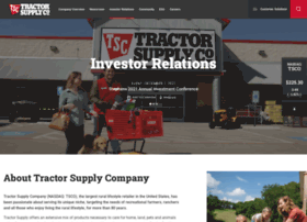 ir.tractorsupply.com