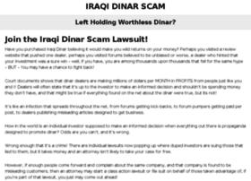 iraqidinarscam.info