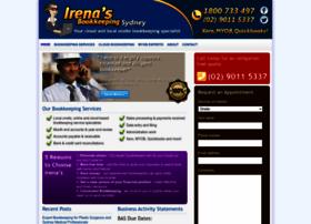 irenasbookkeeping.com.au