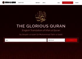 irfan-ul-quran.com