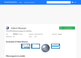 iridium-browser.jaleco.com