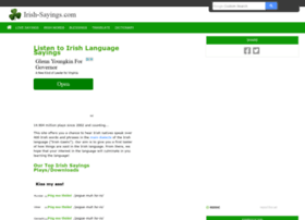 irish-sayings.com
