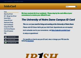 irish1card.nd.edu