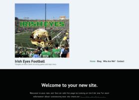 irisheyesfootball.com