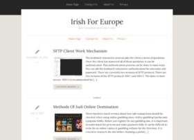 irishforeurope.org