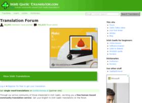 irishgaelictranslator.com