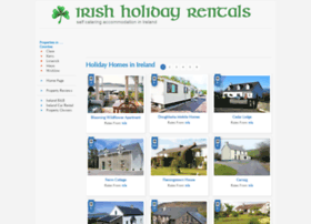 irishholidayrentals.com
