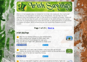 irishsayings.net