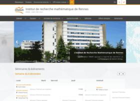 irmar.univ-rennes1.fr