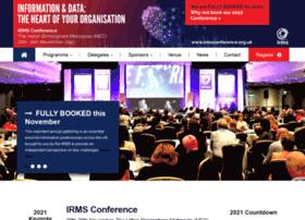 irmsconference.org.uk