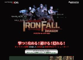 ironfall.agatsuma-games.jp