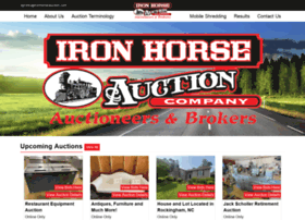 ironhorseauction.com