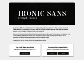 ironicsans.com