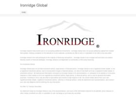 ironridgeglobal.com