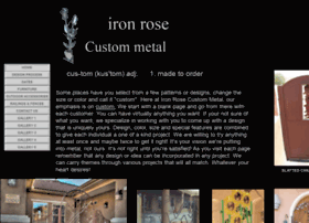 Ironrosecustommetal.com