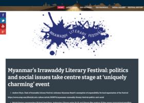 irrawaddylitfest.com