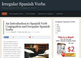 Irregularspanishverbs.com