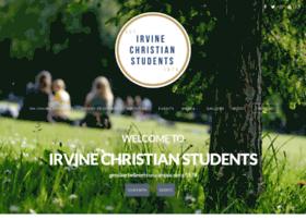 irvinechristianstudents.com