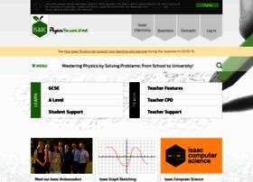 isaacphysics.org