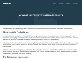 isabellaproducts.com