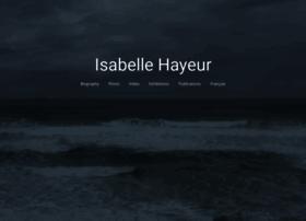 isabelle-hayeur.com