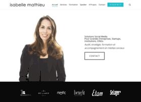 isabelle-mathieu.com