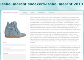 isabelmarantsneakersa2.webs.com