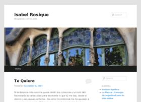 isabelrosique.com
