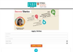 isbf.careers360.com