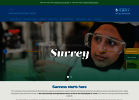 isc.surrey.ac.uk
