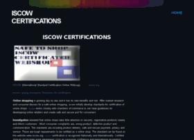 iscowcertifications.webs.com