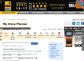iscwest13.mapyourshow.com