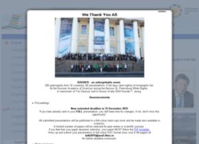 isdh2015.ifmo.ru