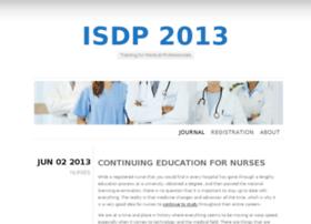 isdp2013.org