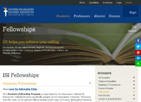 isifellowships.org