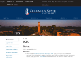 isis.columbusstate.edu