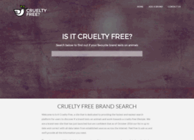 isitcrueltyfree.com