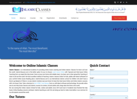 islamicclasses.com