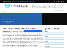 islamicclasses.net