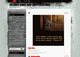 islamicduasandsupplications.wordpress.com