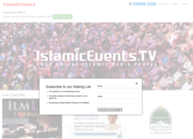 islamicevents.tv