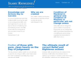 islamicknowledge.co.uk
