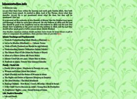 islamicstudies.info