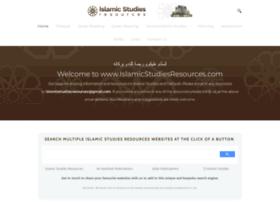 islamicstudiesresources.com