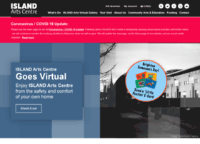 islandartscentre.com