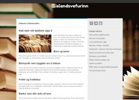 islandsvefurinn.is