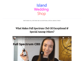 islandweddingshop.com