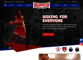 islingtonboxingclub.org