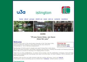 islingtonu3a.org