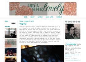 isntshelovelyblog.com